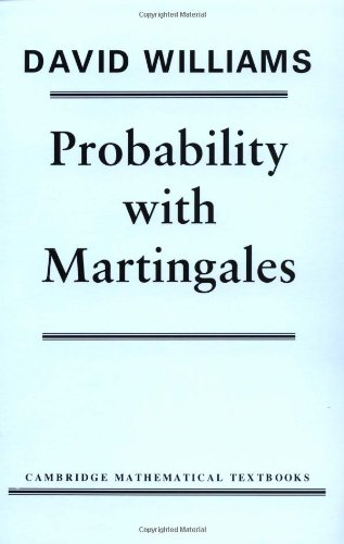 Probability with Martingales   1991 edition cover