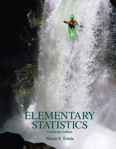 Elementary Statistics   2011 edition cover
