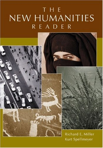New Humanities Reader   2003 9780618216055 Front Cover