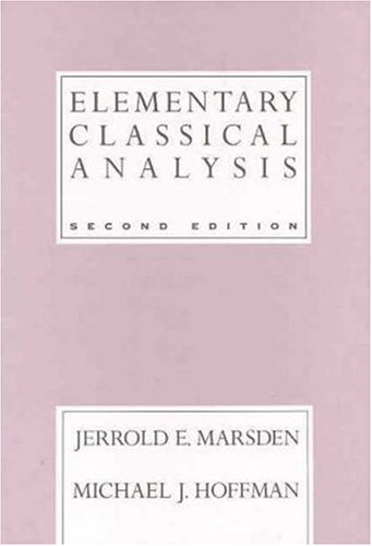 Elementary Classical Analysis  2nd 1993 edition cover