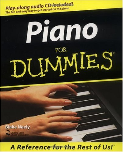 Piano for Dummies   1998 edition cover