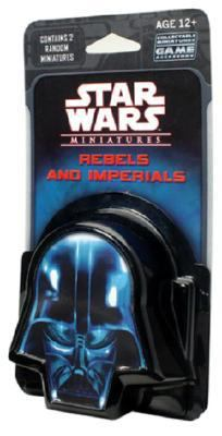 Rebels And Imperials: Star Wars Miniatures Booster Pack  2007 edition cover