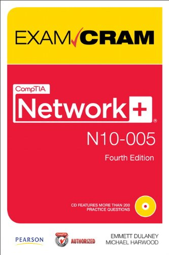 CompTIA Network+ N10-005 Exam Cram  4th 2012 edition cover
