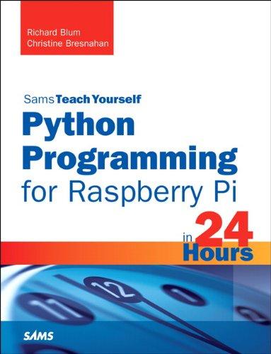 Python Programming for Raspberry Pi   2014 edition cover
