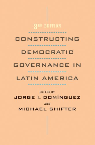 Constructing Democratic Governance in Latin America  3rd 2008 edition cover