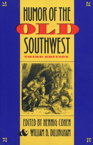 Humor of the Old Southwest  3rd 1994 (Revised) edition cover