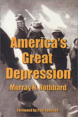 America's Great Depression  5th edition cover