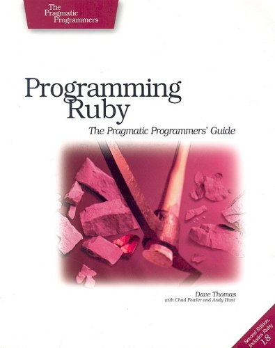 Programming Ruby  2nd 2005 (Revised) edition cover