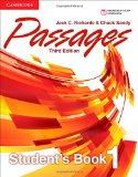 PASSAGES LEVEL 1 STUDENT'S BOOK 3RD EDITION  3rd 2014 (Revised) 9781107627055 Front Cover