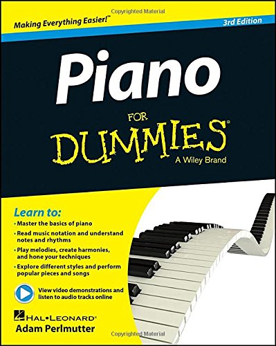 Piano for Dummies�  3rd 2014 edition cover