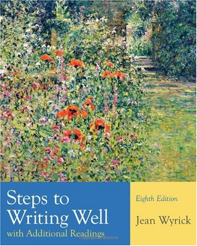 Steps to Writing Well with Additional Readings  8th 2011 edition cover