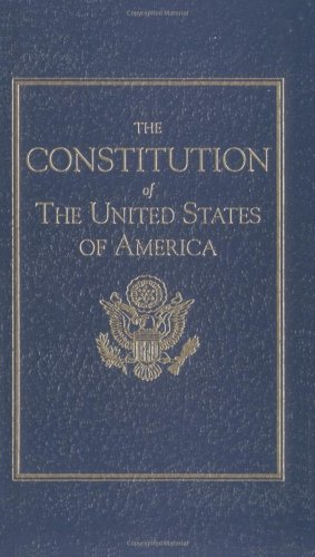 Constitution of the United States of America  N/A edition cover