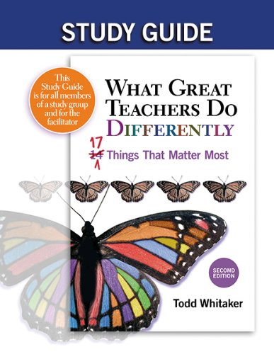 What Great Teachers Do Differently  2nd 2012 (Student Manual, Study Guide, etc.) 9781596672055 Front Cover