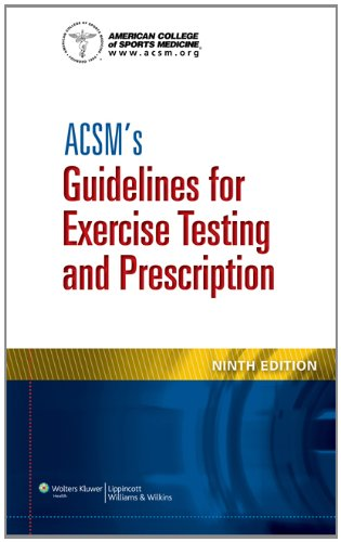 ACSM's Guidelines for Exercise Testing and Prescription  9th 2014 (Revised) 9781609136055 Front Cover