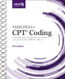 Principles of CPT Coding:   2014 edition cover