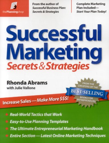 Marketing: Secrets and Strategies N/A edition cover