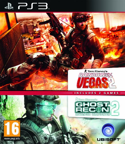 Rainbox Six Vegas 2 & Ghost Recon Advanced Warfighter 2 (Double Pack) /PS3 PlayStation 3 artwork