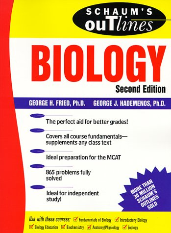 Schaum's Outline of Biology  2nd 1999 (Revised) 9780070224056 Front Cover