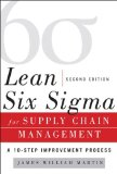 Lean Six Sigma for Supply Chain Management:   2014 9780071793056 Front Cover