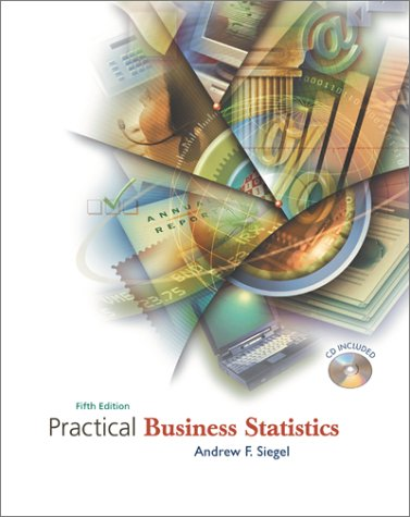 Practical Business Statistics 5th 2002 9780072499056 Front Cover