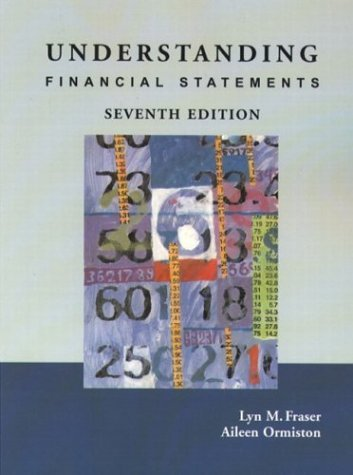 Understanding Financial Statements  7th 2004 edition cover
