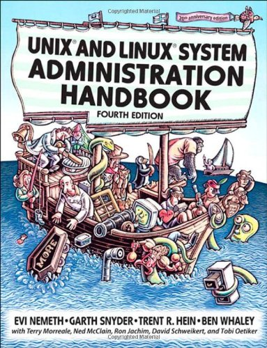 UNIX and Linux System Administration Handbook  4th 2011 (Revised) edition cover