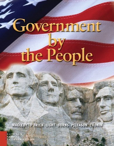 Government by the People, Teaching and Learning  6th 2006 (Revised) edition cover