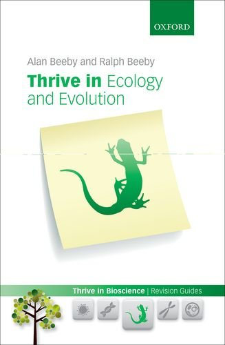 Thrive in Ecology and Evolution   2013 9780199644056 Front Cover