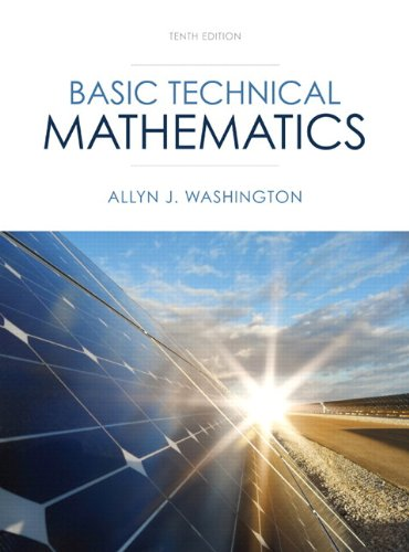 Basic Technical Mathematics Plus NEW MyMathLab with Pearson EText -- Access Card Package  10th 2014 edition cover