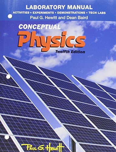 Activities, Experiments, Demonstrations & Tech Labs for Conceptual Physics:   2014 edition cover