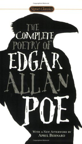 Complete Poetry of Edgar Allan Poe  N/A edition cover