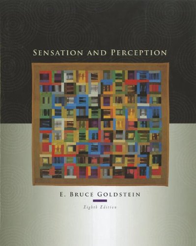 Sensation and Perception (Book Only)  8th 2009 edition cover