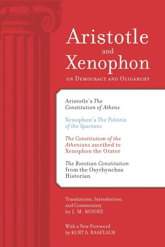 Aristotle and Xenophon on Democracy and Oligarchy  2nd 2010 edition cover