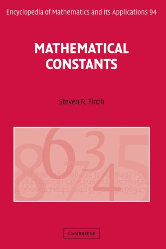 Mathematical Constants   2003 9780521818056 Front Cover