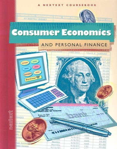Consumer Economics and Personal Finance  2003 9780618222056 Front Cover