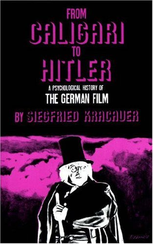 From Caligari to Hitler A Psychological History of the German Film  1966 edition cover