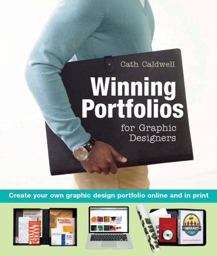 Winning Portfolios for Graphic Designers   2010 edition cover