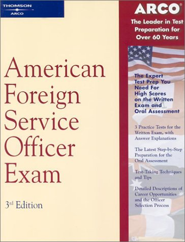 American Foreign Service Officer Exam 3rd 2001 edition cover