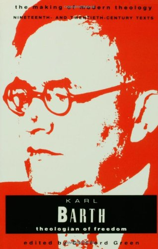 Karl Barth Theologian of Freedom N/A edition cover