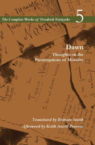 Dawn Thoughts on the Presumptions of Morality  2011 9780804780056 Front Cover