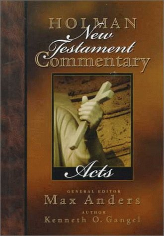 Holman New Testament Commentary - Acts  N/A edition cover