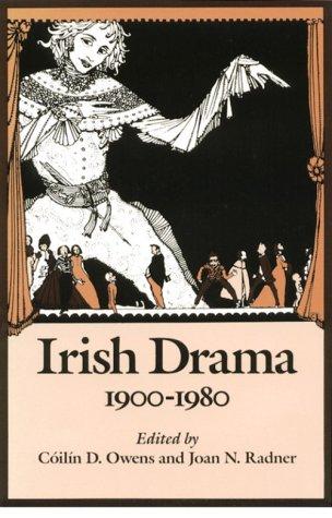 Irish Drama, 1900-1980 N/A edition cover
