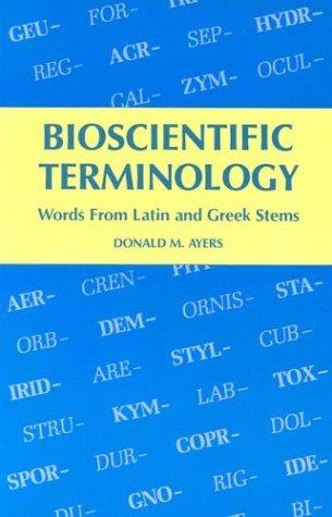 Bioscientific Terminology  N/A edition cover