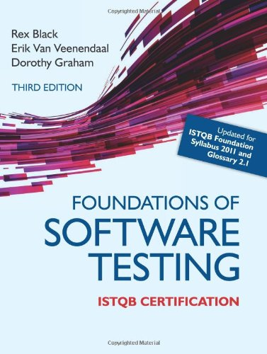 Foundations of Software Testing ISTQB Certification  3rd 2012 edition cover