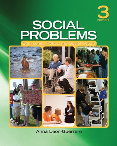 Social Problems Community, Policy, and Social Action 3rd 2011 edition cover