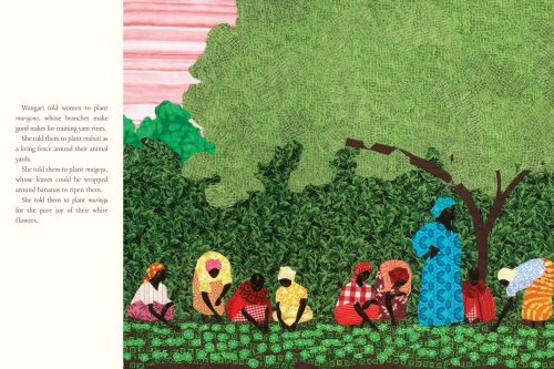 Mama Miti Wangari Maathai and the Trees of Kenya  2010 edition cover