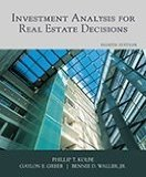 Investment Analysis for Real Estate Decisions:   2012 edition cover