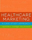 Healthcare Marketing: A Case Study Approach  2013 edition cover