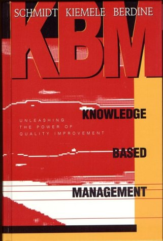 Knowledge Based Management 1st edition cover
