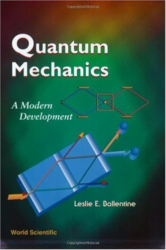 Quantum Mechanics A Modern Development  2010 edition cover